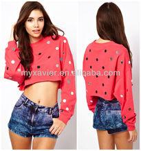 Bulk wholesale clothing, lady crop top(S5000)