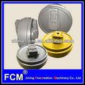 Piezas de maquinaria para procesamiento de metales, excavadora sobre orugas partes, ex200 rodillo loco