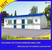 Prefabricated aluminum glass house for sale