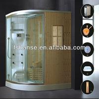 Indoor Computer steam sauna room with shower room