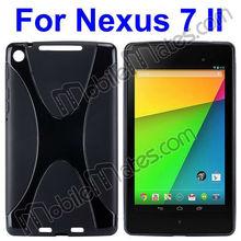 Newest Anti-slip Transparent Soft TPU Case For Asus Google Nexus 7 II 2