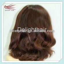 2013 new fashion soft Silk skin top European human hair jewish kosher wigs