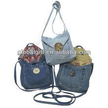 Demin jean bags handmade