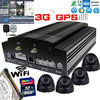 4-ch Linux Based 3G with GPS tracking integration vehicle network embedded dvr
