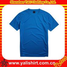 OEM hot sale comfort blue o-neck short sleeve slim men bamboo spandex t shirt blank design