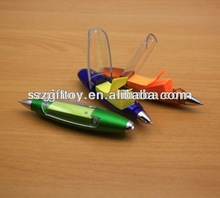 Plastic ball pen with sticky notes