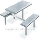 Model style cheaper fast food table and chairs SR028