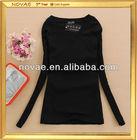 Basic style women slim korea new model t shirt