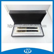 High End Glod Plating Gift Ink Pen Set, Gel Ink Pen Set