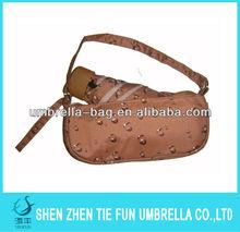 Sun foldable umbrella in bag