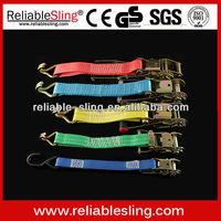 CE GS Ratchet Tie Down with No Hook/Plastic Ratchet Tie Down