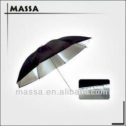 "36"" Photography camera umbrella Photo Studio Umbrella (Black and Silver)"