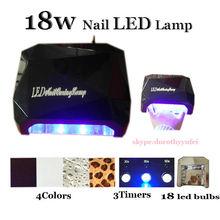 18w led nail lamp for uv led nail gel polish