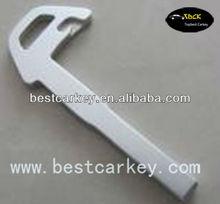 High quality car key blank for Volvo/Jaguar emergency key (aluminium)