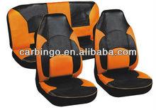 6PCS/SET PVC+Mesh Car Seat Covers