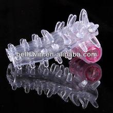 Sexy Pleasure Ring Vibrator Condom for Men