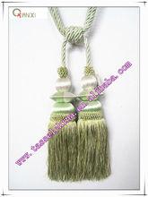 wholesale tassel tiebacks for curtain, wood tieback, tie back, hangbal, curtain design