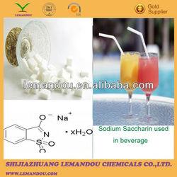 food additive Sodium Saccharin dihydrate 6155-57-3