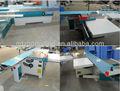 Precisão de corte de madeira tabela de deslizamento viu máquina com a Siemens Motor para fabricação de móveis