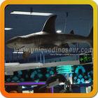 Large animatronic life size animals shark