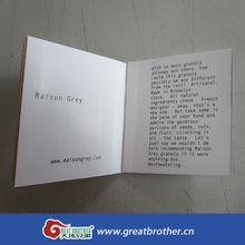 Custom printing brochure/pamphlet/manual