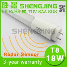 4ft Motion sensor 18W underground garage t8 led light tube