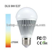 LED bulb lighting 9W best seller in year 2013