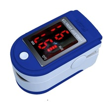 Medical Fingertip Pulse Oximeter with SpO2 Value Display, Pulse Rate Value Display and Bar Graph Display