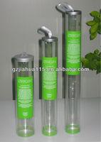 pvc hair packing tube