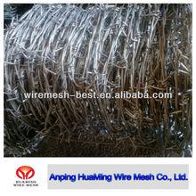 14*14, 12*14 galvanized barbed wire