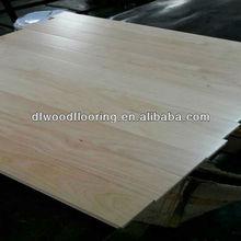 Finished UV Coating Solid Wood Flooring for Stadium/Playground