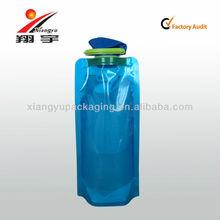 Blue Mineral Water Bottle