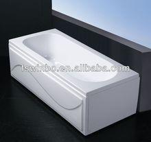 square shape walk in bathtub with shower foshan supplier