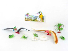 colorful toy birds