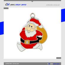 Santa Claus 2GB USB memory stick, Christmas stocking USB flash drive,Wholesale China USB flash stick