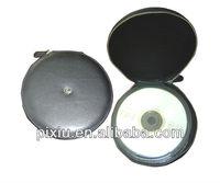 Hot selling zipper leather CD holder