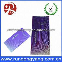 printed aluminium foil plastic bag insulated cooler bags
