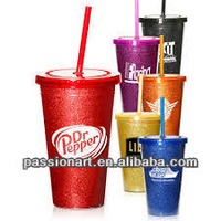 Sublimation Gifts Double Wall Acrylic Tumbler With Straw and Lid 26oz