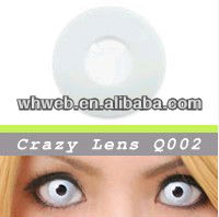 Hotest White Out Zombie Contacts Crazy Contact Lenses Fresh Color Vampire Crazy Lens With Various Styles Avaliable