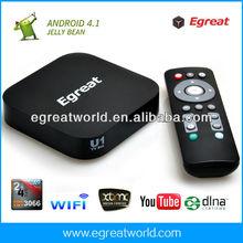 XBMC DLNA ARM A9 1GRAM 4GBROM U1 Android tv box