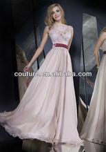 New Arrival purple lace sheath sleeveless floor length TM462 evening dresses for veiled girls