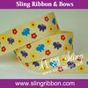 Floral Printing Ribbon For Gift Decoration