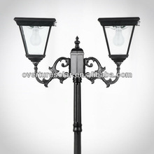 overture JY-0018B-S3-62W 8w high pole 2.35m beautiful design alnumium outside lights garden,gate light, ce, ip44