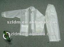 Japan PVC Hooded Rain suit
