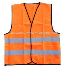high visibility cheap traffic police reflective safety vest
