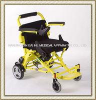 Folding aluminium lightweight portable electric wheelchair under $1000