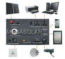300w PV solar power mobile solar power