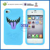 C&T Smart phone with mischievous pattern tpu cover for custom iphone4 case