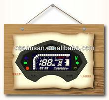Portable speedometer Motorcycle Panel trader digital speedometer