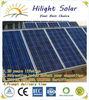 grade A poly solar panel module with TUV IEC CE CEC ISO INMETRO